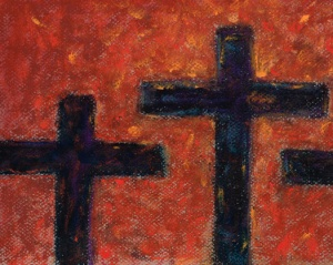 art crosses pastel
